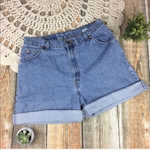 Levis | Vintage 39922 Tapered Fit High Rise Shorts